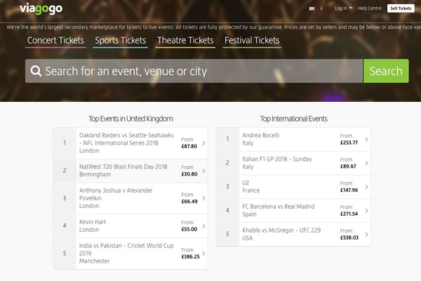 Viagogo taken to High Court by competition regulator ZlotoNews