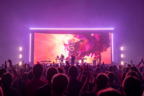 Universal Pixels supplies Thom Yorke tour - Access All Areas